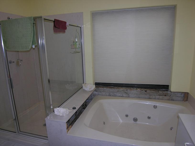 Remodel Bathroom Remove Tub custom craftsmen services, inc.